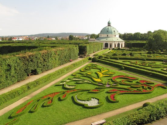 Gardens and Castle at Kromeriz