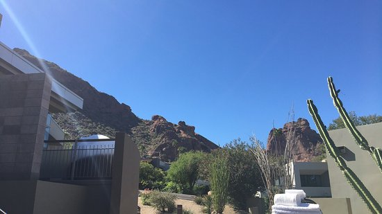 Sanctuary Camelback Mountain: What a relaxing and refreshing resort! I highly recommend the Sanctuary if you are looking for s