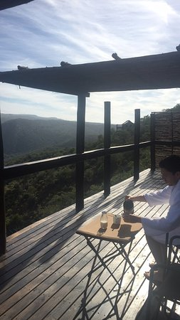 Addo, Afrique du Sud : Balcony of the room