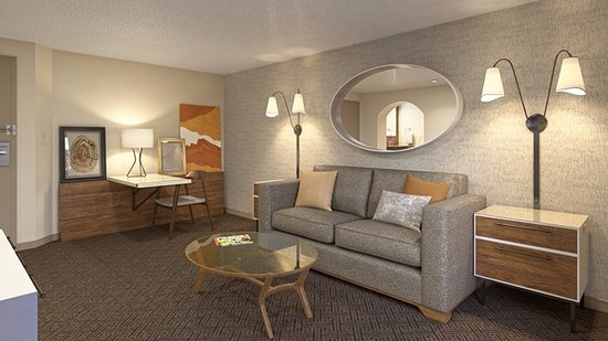 Rancho Cordova, CA: Suite living room