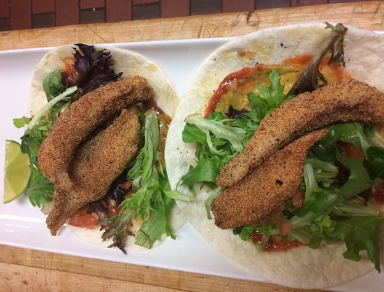 Red Deer, Canadá: Fish Tacos