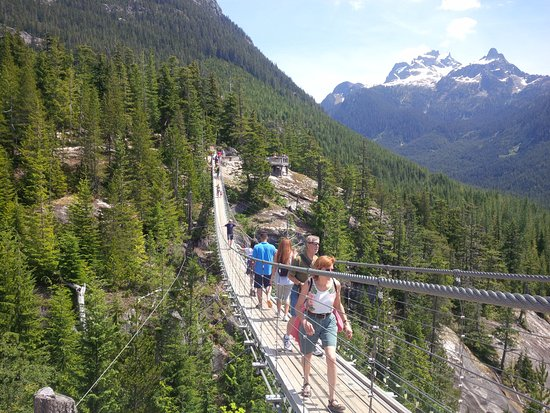 Richmond, Kanada: Suspension bridge