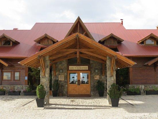 Los Cauquenes Resort & Spa: Hotel entrance