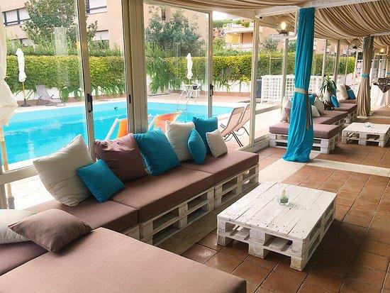L 39 area piscina sezione interna al coperto pepperpool - Piscina al coperto milano ...