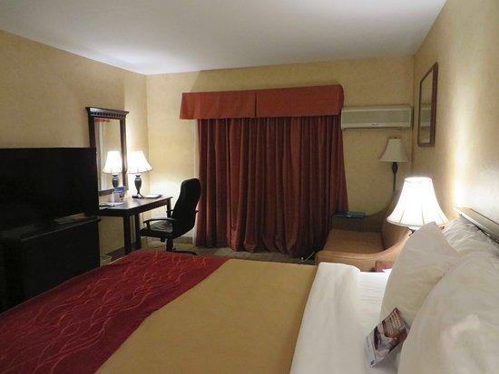 Comfort Inn Escondido: King Bed