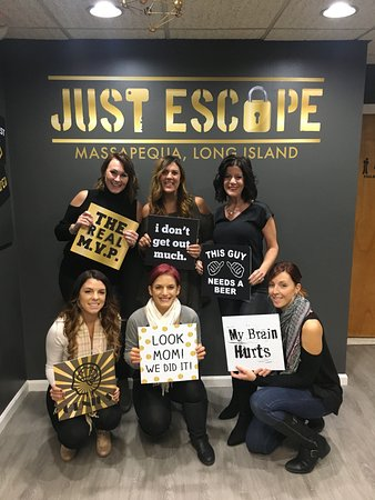 Just Escape Massapequa Rooms