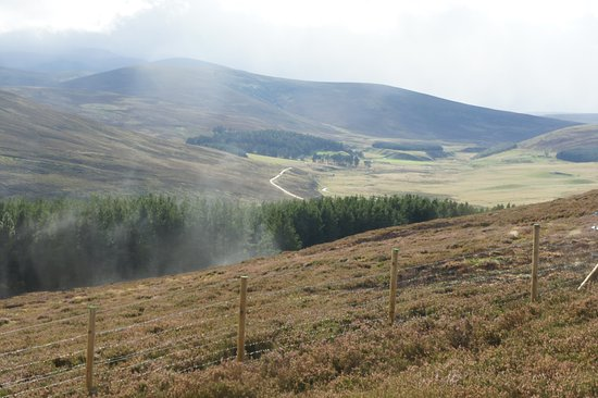 Badenoch and Strathspey, UK: Scenic Overlook, Old Military Road