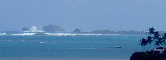 Kaneohe, HI: WINTER HIGH SURF! NO FUN OUT THERE ON THESE DAYS! CHECK FIRST! Check the 30' +whitewash!