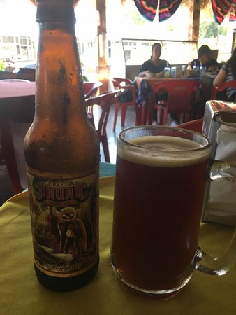 Taqueria Mexico : Mercedes or Meche... I loved this american brown ale