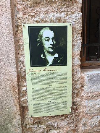 Bale, Croatia: Giacomo Casanova was here may times
