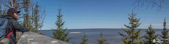 Sainte-Flavie, Canada: Vue de notre tour d'observation