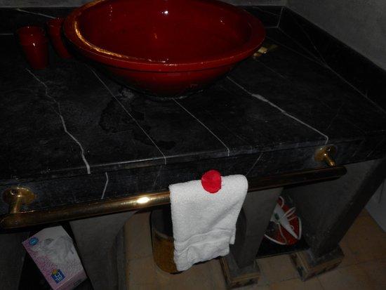 Riad Argan: A delicadeza na toalhinha de mão.