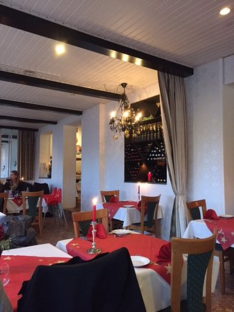 Dragoer, Denmark: Een deel van het interieur van Dragor Strandhotell