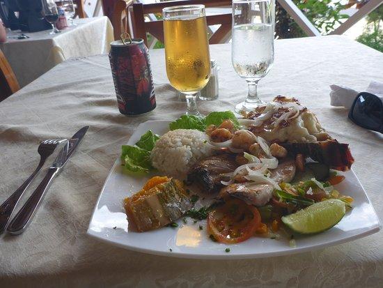 Casa de Fondue : The Seafood platter
