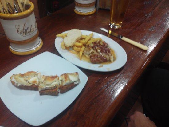 Osuna, España: Esto es un ejemplo de lo rico que se come... precios buenisimos también, recomendado... pero muy