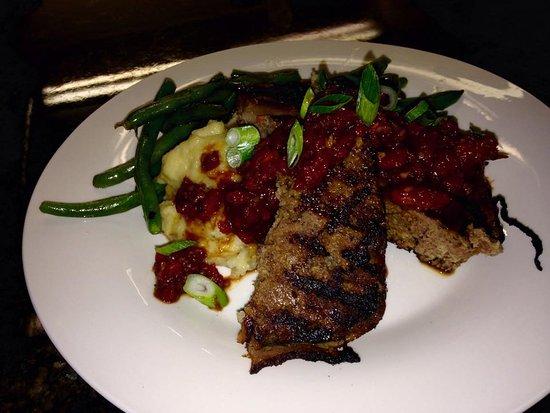 Bigfork, MT: Bacon tomato jam bison meatloaf