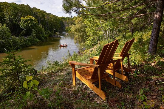 Manistee River Fun, just northwest of Cadillac at Chippewa Landing