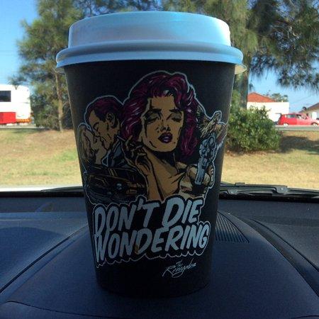 Mascot, Australia: Coffee on the run