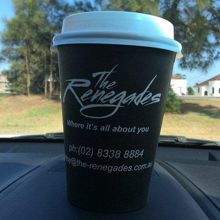 Mascot, Australia: Trendy cups