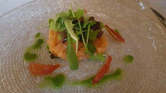 Figline e Incisa Valdarno, Italy: Tartare di salmone