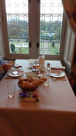 Noizay, France: het ontbijt