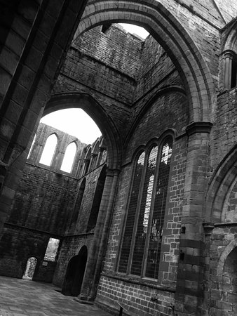 Lanercost, UK: View from the north transept towards the south transept