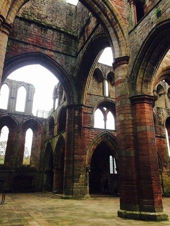 Lanercost, UK: Inside the south transept