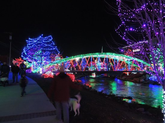 Caldwell, ID: Winter Wonderland Lights at Indian Creek Park during the Winter Holidays