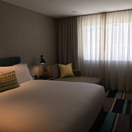 Nice rooms, poor location for solo business travel