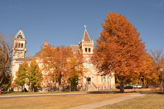 Logan, UT: old main in fall