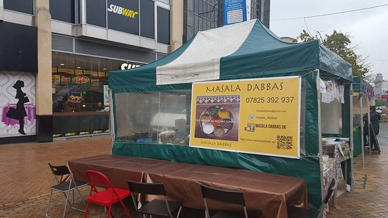 Masala Dabbas Stall in Bromley South