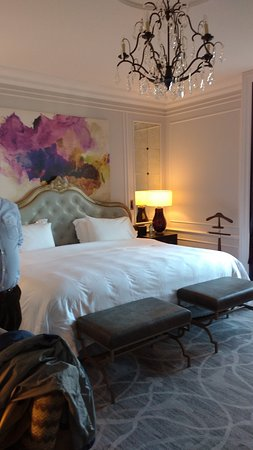 Hotel Maria Cristina, a Luxury Collection Hotel, San Sebastian: zicht in de kamer