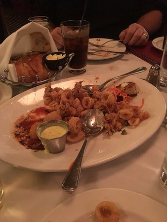 Independence, OH : Steak Delmonico, seafood tray, and some menu choices.........