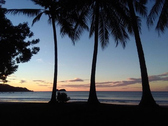 Playa Hermosa, Κόστα Ρίκα: Hermoso atardecer