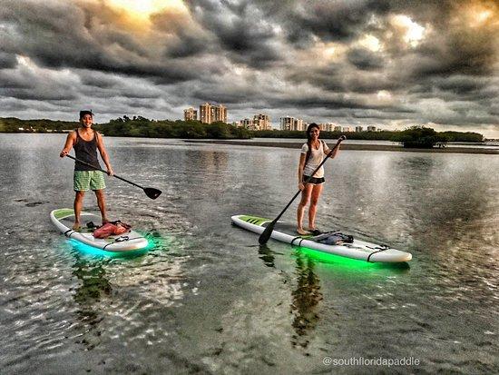 North Palm Beach, Floryda: Night SUP Glow Tour to Munyon Island
