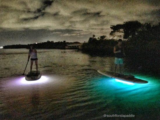 North Palm Beach, Floryda: Night paddle board Glow Tour to Munyon Island