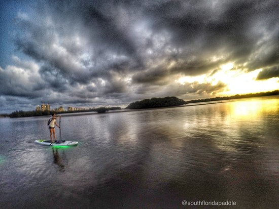 Sunset Paddle to Munyon Island North Palm Beach