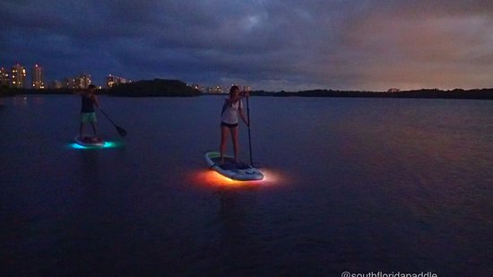 Night SUP Glow Tour North Palm Beach singer island