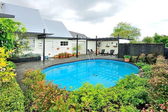 Maison du Bois: pool