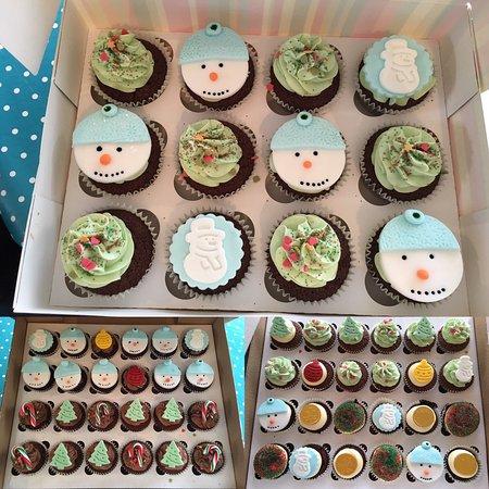 Ruthin, UK: Delightful cupcakes