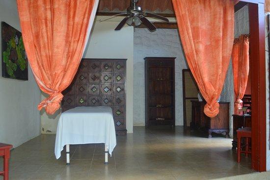 Isla Popa, Panama: Massage room