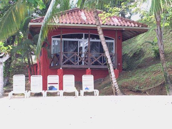 Isla Popa, Panama: Casita #10 on the beach