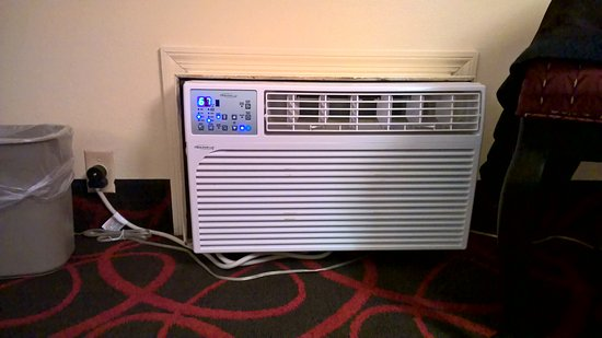 Days Inn Richmond: Great to have quiet working heat in winter.