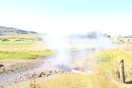 Reykholt, Iceland: מעיינות חמים