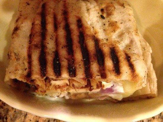 Newtown, CT: Cajun Chicken Panini