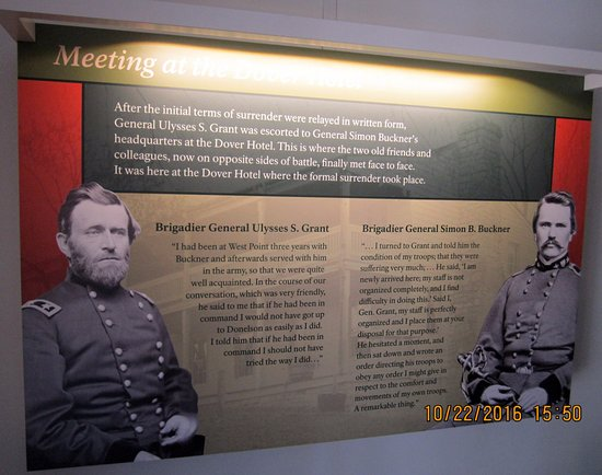 Dover, TN: Historical information about the generals