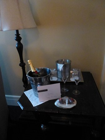 Omni Mount Washington Resort: the treat that awaited us in Room 35