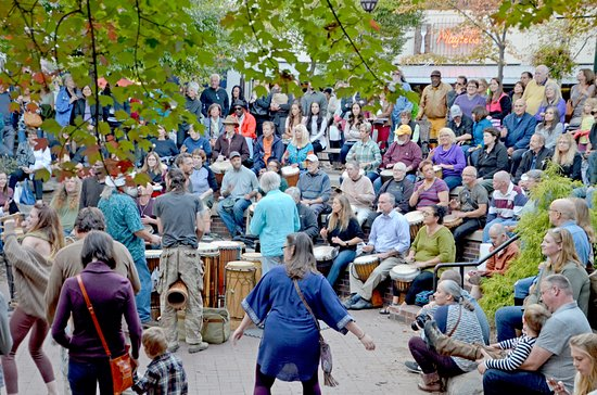 ‪Asheville Drum Circle‬