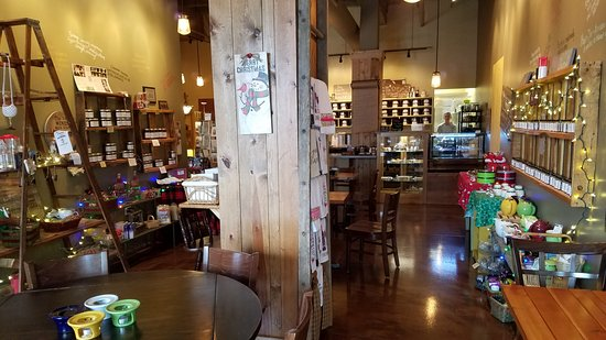 Franklin, IN: cafe area
