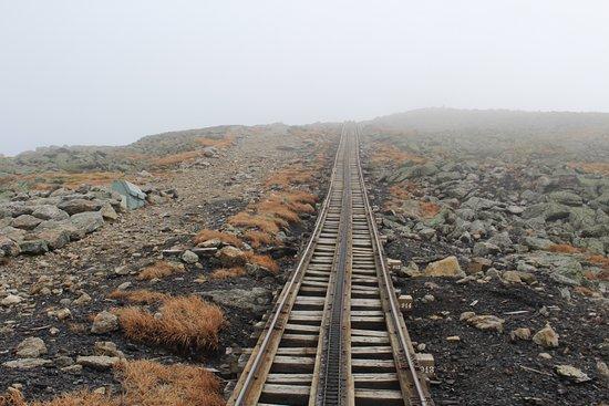 Bretton Woods, NH: the cog railroad